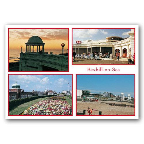 Bexhill-on-Sea - Sold in pack (100 postcards)