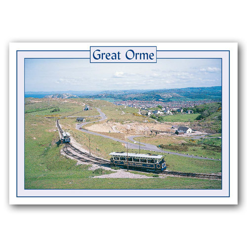 Llandudno Great Orme - Sold in pack (100 postcards)