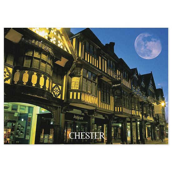 Chester The Rows Eastgate Street - Sold in pack (100 postcards)