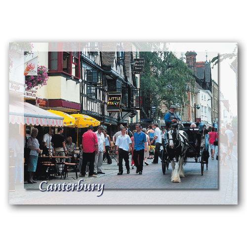 Canterbury - Sold in pack (100 postcards)
