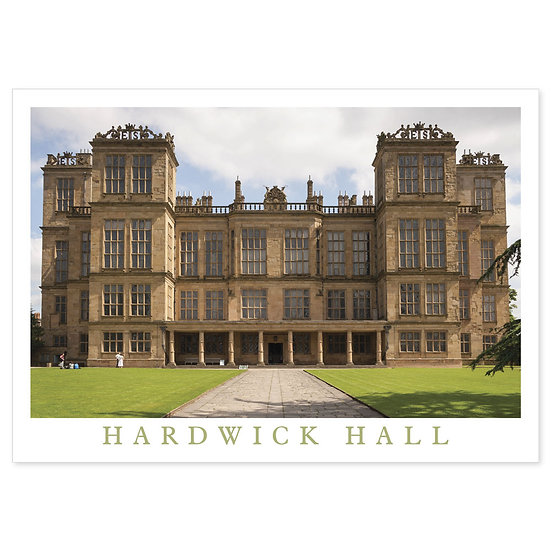 Hardwick Hall, Derbyshire - Sold in pack (100 postcards)