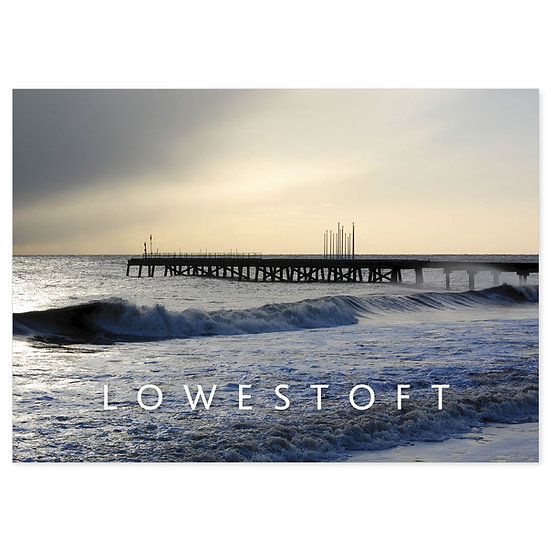 Lowestoft Coast - Sold in pack (100 postcards)