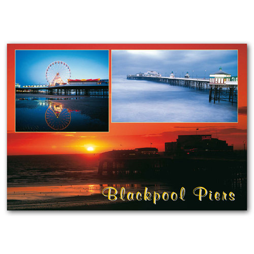 Blackpool Pier - Sold in pack (100 postcards)