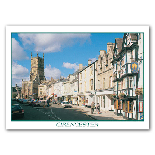 Cirencester - Sold in pack (100 postcards)