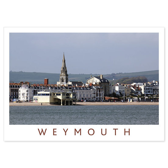 Weymouth Seafront - Sold in pack (100 postcards)