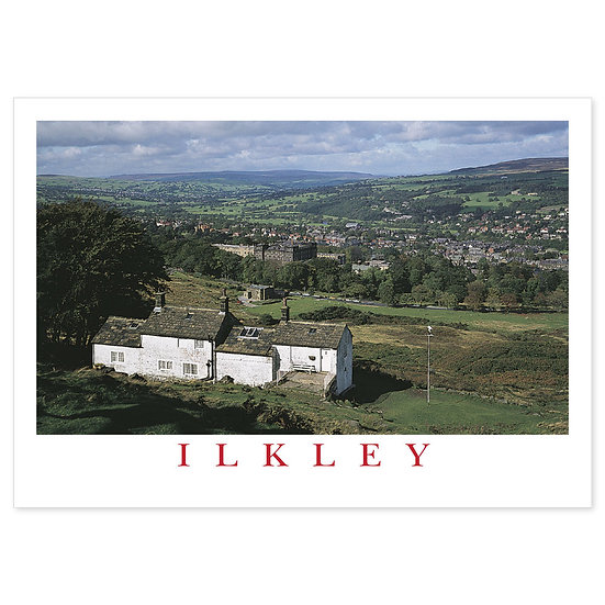 Ilkley From White Wells - Sold in pack (100 postcards)