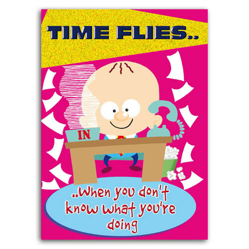 Little Devils - Time Flies - Sold in pack (100 postcards)