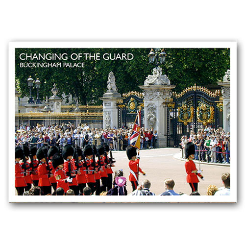 London Changing of the Guard - Sold in pack (100 postcards)