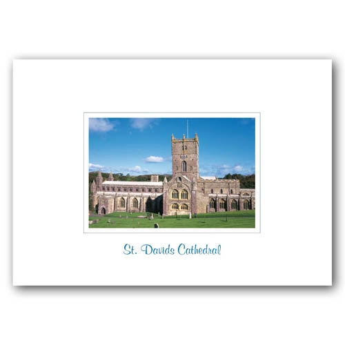 St Davids Cathedral - Sold in pack (100 postcards)