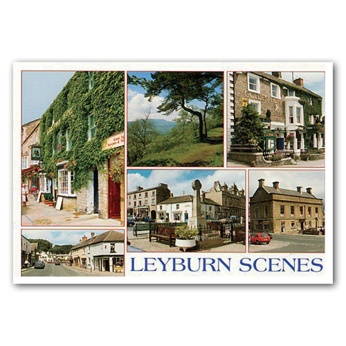 Leyburn Scenes - Sold in pack (100 postcards)
