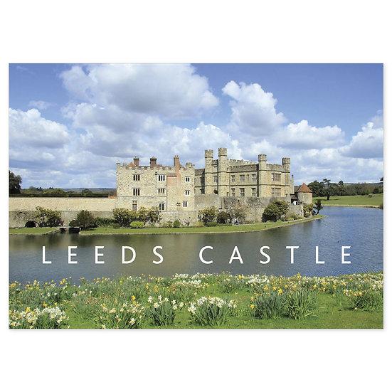Leeds Castle - Sold in pack (100 postcards)