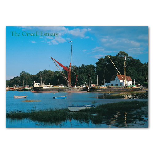 Ipswich Pin Mill On Theonwel - Sold in pack (100 postcards)