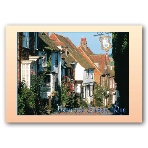 Rye Mermaid Street - Sold in pack (100 postcards)
