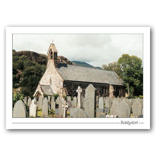 Beddgelert Church - Sold in pack (100 postcards)