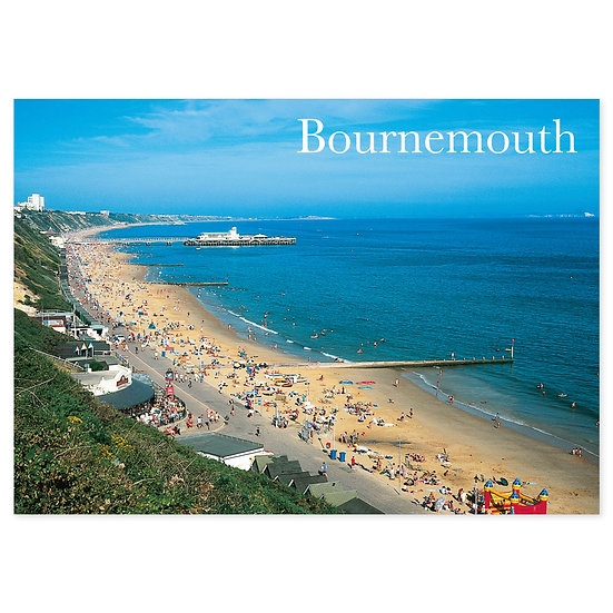 Bournemouth Beach View - Sold in pack (100 postcards)