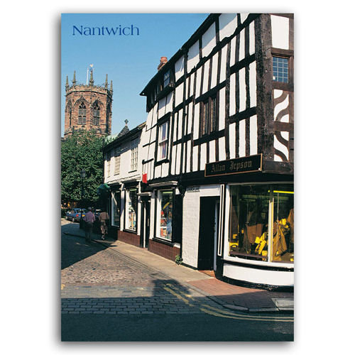Nantwich - Sold in pack (100 postcards)