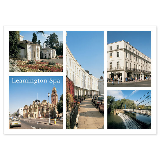 Leamington Spa - Sold in pack (100 postcards)
