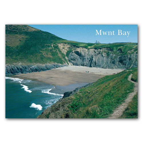 Mwnt Bay - Sold in pack (100 postcards)