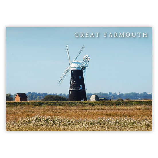 Great Yarmouth, Berney Arms - Sold in pack (100 postcards)