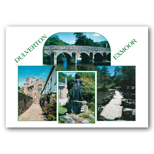 Exmoor Dulverton - Sold in pack (100 postcards)