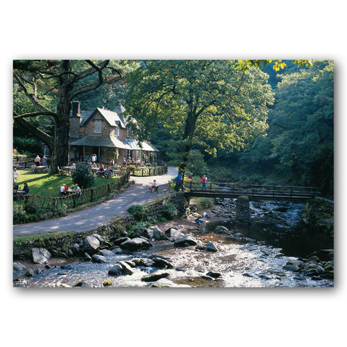 Lynmouth Watersmeet - Sold in pack (100 postcards)