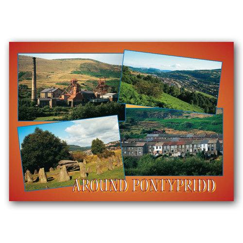 Pontypridd Around Comp - Sold in pack (100 postcards)