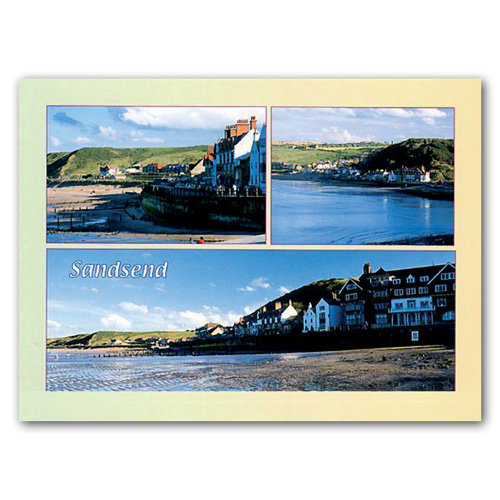 Sandsend - Sold in pack (100 postcards)