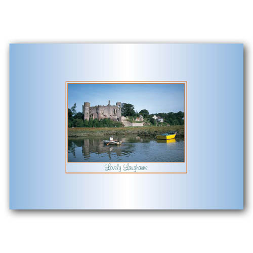 Laugharne Lovely - Sold in pack (100 postcards)