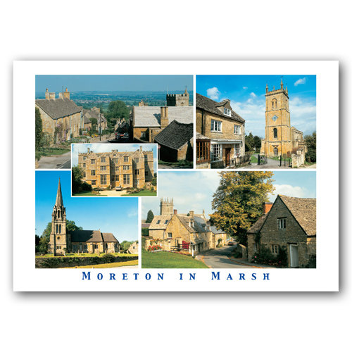 Moreton in Marsh Comp - Sold in pack (100 postcards)