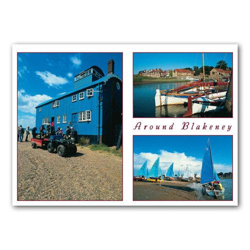 Blakeney Norfolk View Comp - Sold in pack (100 postcards)