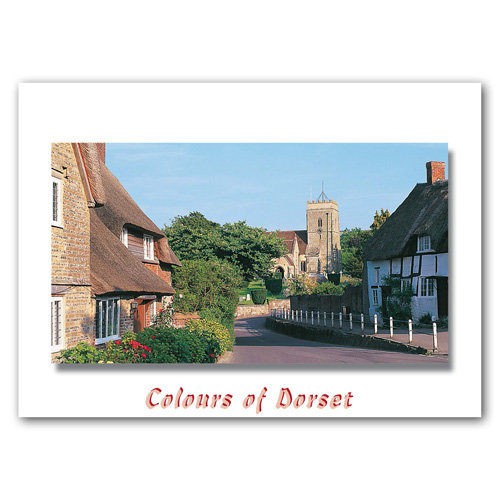 Dorset Just Stinsford - Sold in pack (100 postcards)