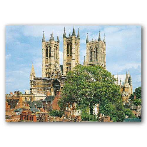 Lincoln Minster - Sold in pack (100 postcards)