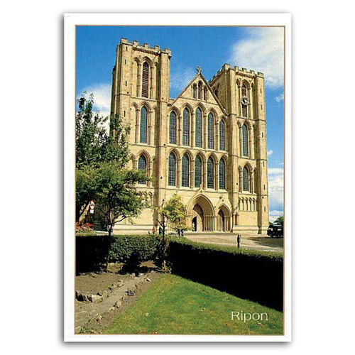 Ripon Cathedral - Sold in pack (100 postcards)