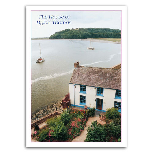 Laugharne Dylan Thomas House - Sold in pack (100 postcards)