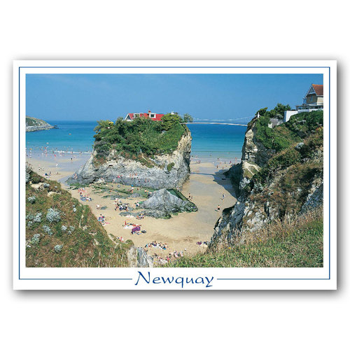 Cornwall Newquay - Sold in pack (100 postcards)