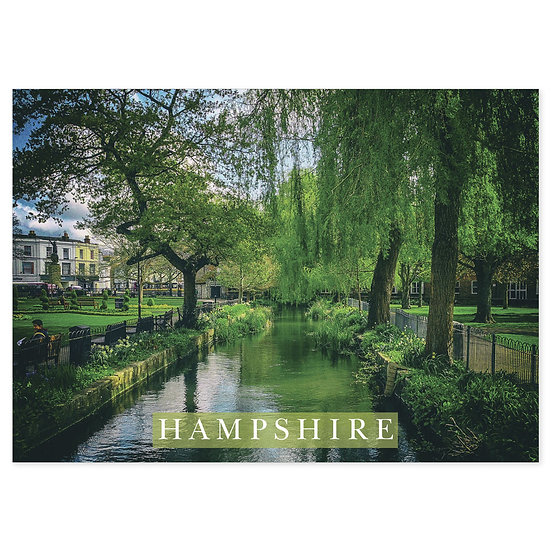 Hampshire Countryside - Sold in pack (100 postcards)