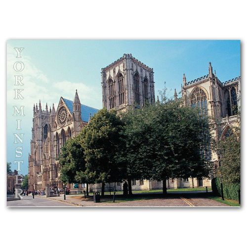 York Minster - Sold in pack (100 postcards)
