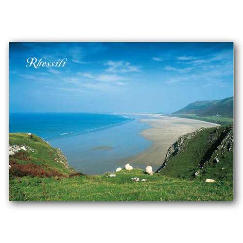 Rhossili - Sold in pack (100 postcards)
