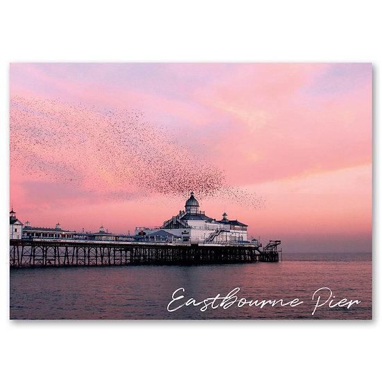 Eastbourne Pier - Sold in pack (100 postcards)