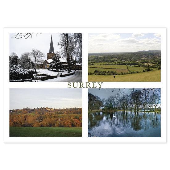 Surrey Comp - Sold in pack (100 postcards)