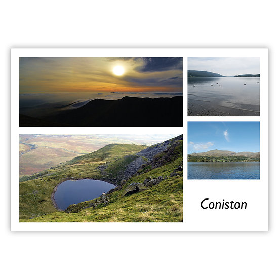 Coniston Comp - Sold in pack (100 postcards)