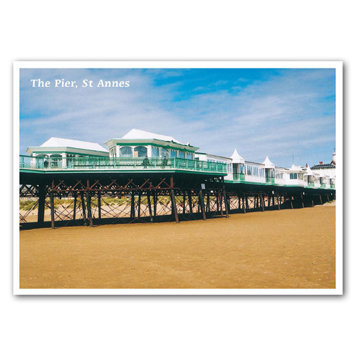St Anne's Pier - Sold in pack (100 postcards)
