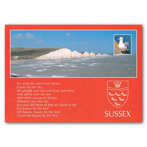 Sussex Comp - Sold in pack (100 postcards)