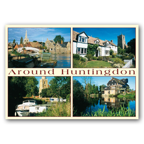Huntingdon Around - Sold in pack (100 postcards)