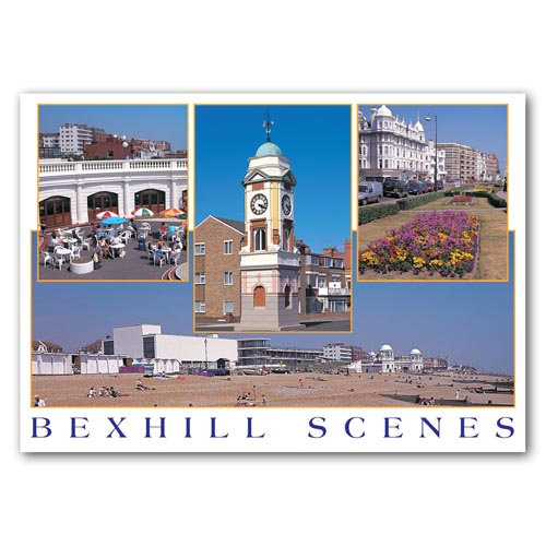 Bexhill-on-Sea 4 Comp - Sold in pack (100 postcards)