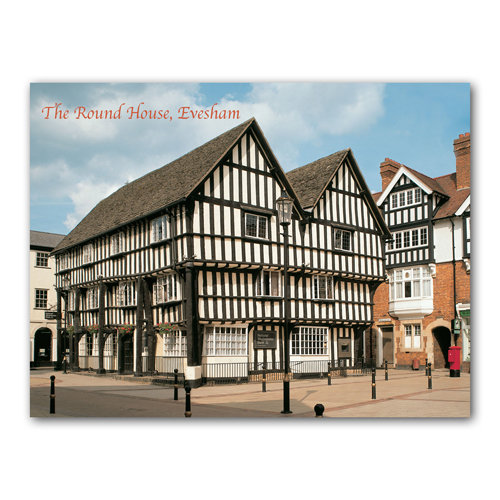 Evesham Round House - Sold in pack (100 postcards)