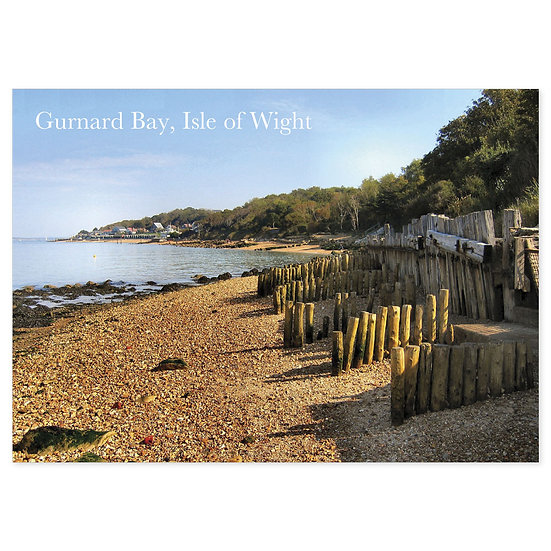 Isle of Wight Gurnard Bay - Sold in pack (100 postcards)
