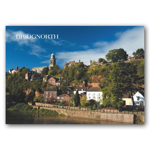 Bridgnorth - Sold in pack (100 postcards)