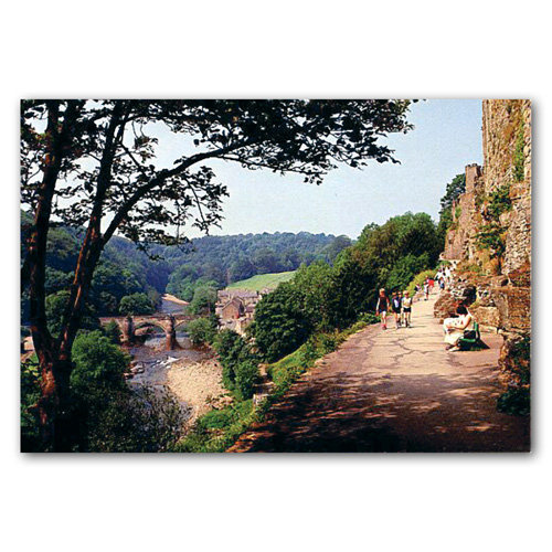 Richmond Castle Walk - Sold in pack (100 postcards)
