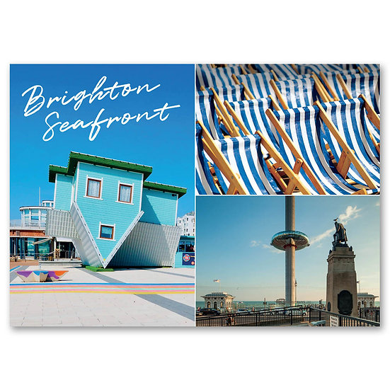 Brighton Seafront - Sold in pack (100 postcards)
